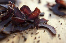 Biltong, la viande séchée made in Afrique du sud
