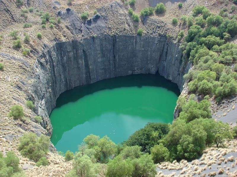 Le Big Hole à Kimberley région diamantaire d'Afrique du Sud