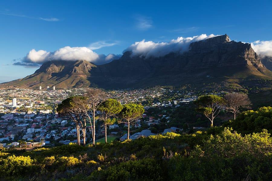 Table Mountain vue générale