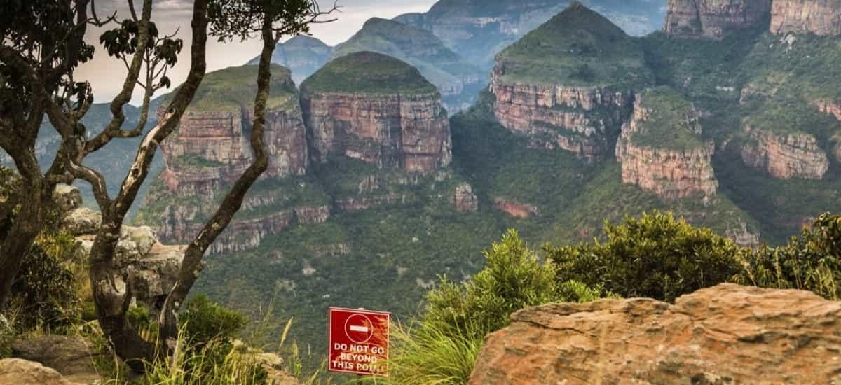 Three Rondavel - Blyde River Canyon