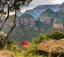 Three Rondavel - Blyde River Canyon