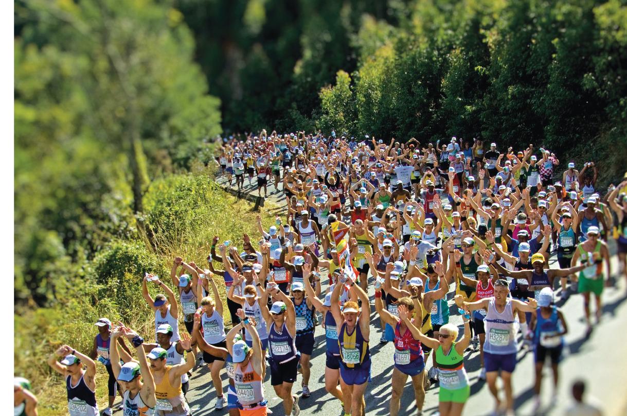 Marathon en Afrique du Sud