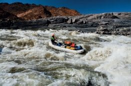 Rafting en Afrique du Sud
