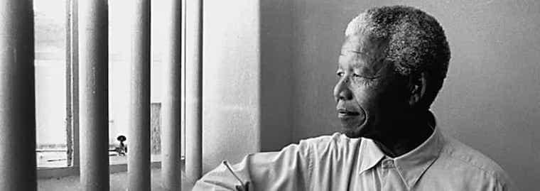 Nelson Mandela dans sa prison de Robben Island, souvenirs
