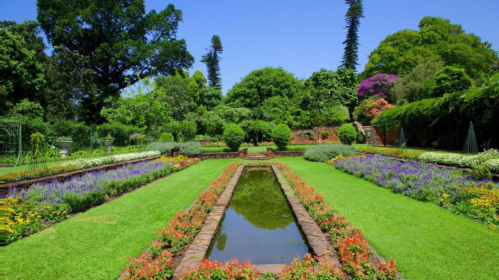 Les jardins botaniques de Durban en Afrique du sud