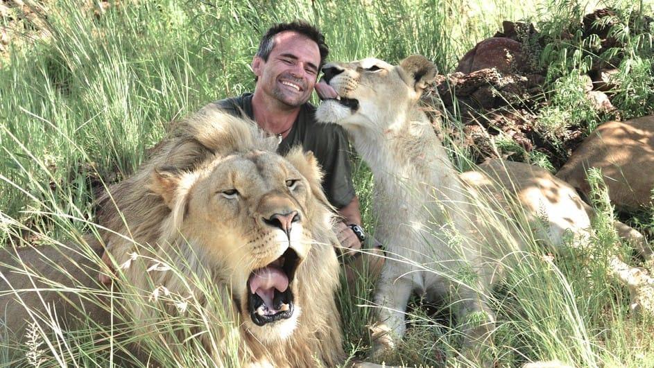 Kevin Richardson, l'ami des lions en Afrique du Sud