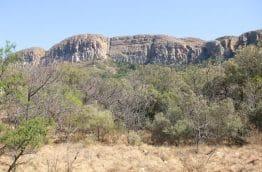 Montagnes du Magaliesberg en Afrique du Sud