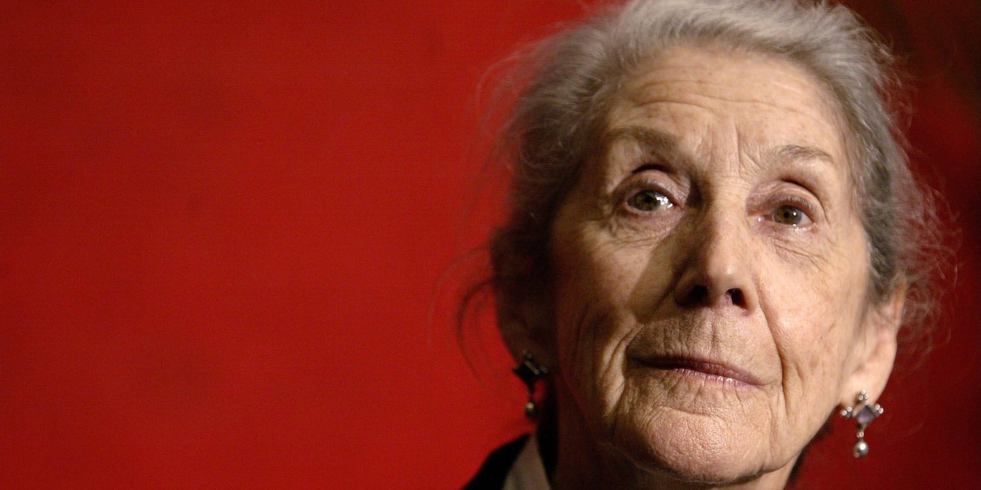 Nadine Gordimer écrivaine d'Afrique du Sud
