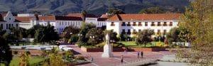 Place de Stellenbosch route des vins afrique du sud
