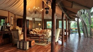 Un air de Out of Africa - Hamilton tented camp
