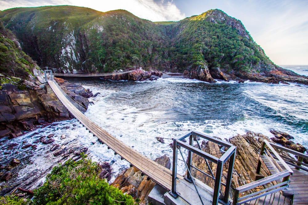 Pont de Tsitsikamma en Afrique du Sud