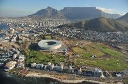 vue aérienne de Cape town