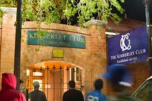 Kimberley Club, entrée