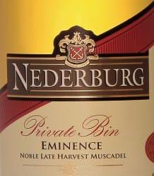 vins-nederburg-private-bin-eminence-afrique-du-sud-decouverte