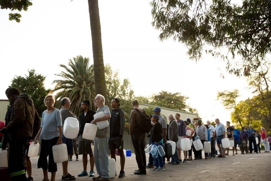 Pénurie d'eau à Cape Town -afrique-du-sud-decouverte