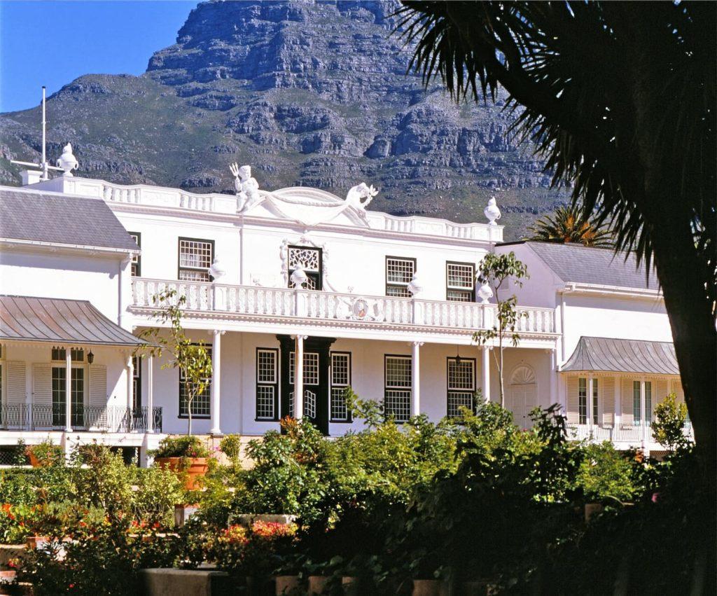 tuynhuys-fachada-sudáfrica-descubrimiento