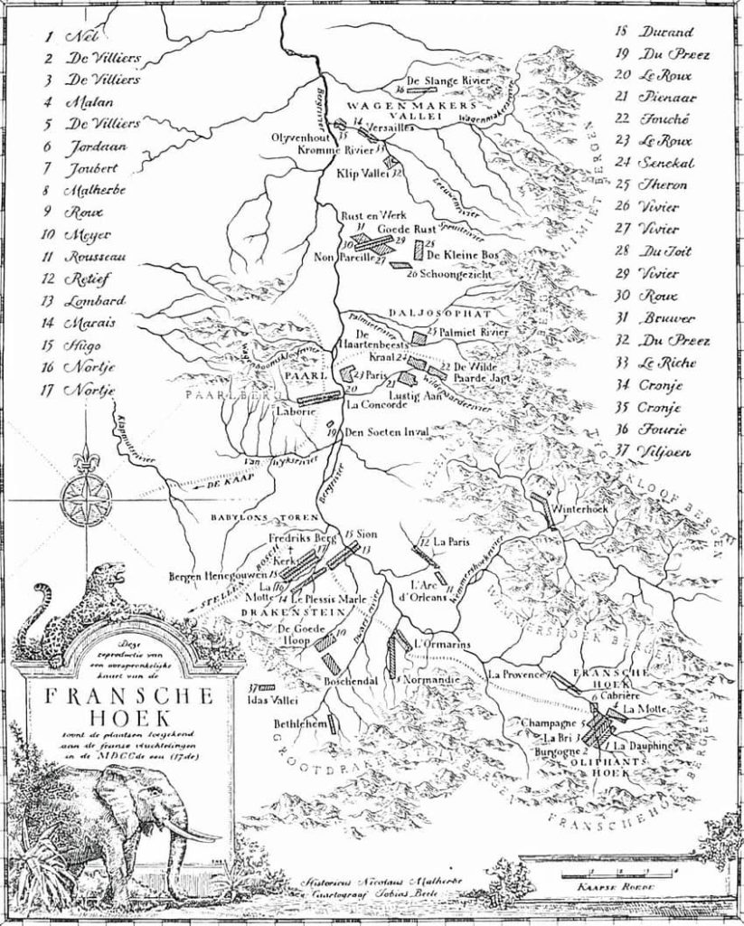 mapa-hugonote-de-sudáfrica-descubrimiento
